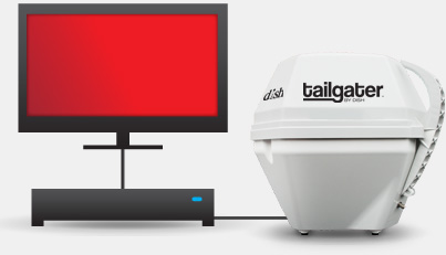 Setup The Tailgater Portable Hd Tv